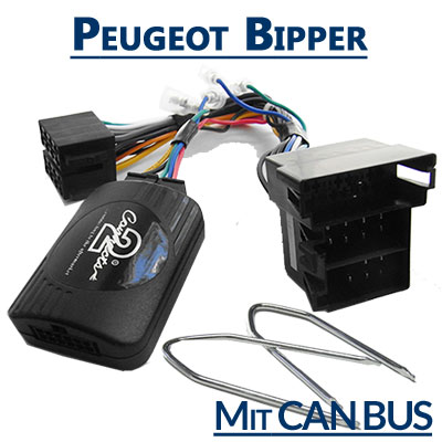 Peugeot-Bipper-Lenkrad-Fernbedienung-Adapter-mit-CAN-BUS