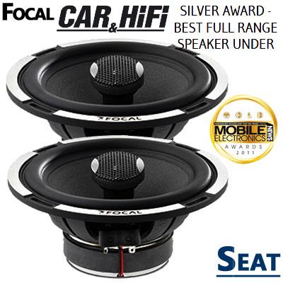 Seat-Ibiza-6L-Lautsprecher-Koax-Award-Gewinner-vorne-oder-hinten