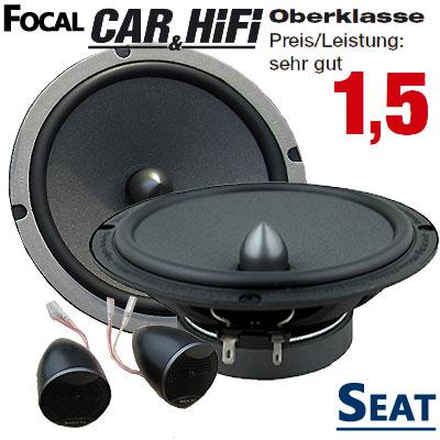 Seat-Ibiza-6L-Lautsprecher-Oberklasse-sehr-gut-vordere-Türen