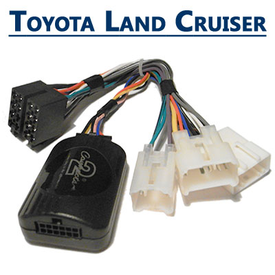 Toyota-Land-Cruiser-Lenkrad-Fernbedienung-Adapter