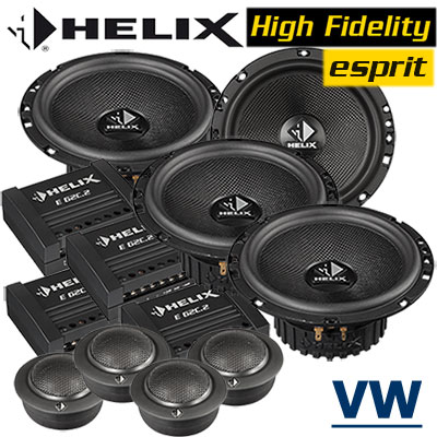 VW-Golf-4-Variant-Lautsprecher-Soundsystem-für-4-Türen