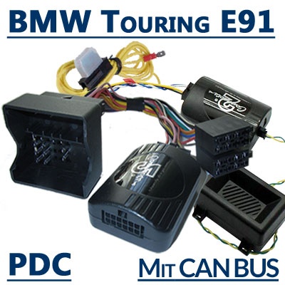 BMW 3er Touring E91 Adapter Lenkradfernbedienung PDC und Warnsignale BMW 3er Touring E91 Adapter Lenkradfernbedienung PDC und Warnsignale BMW 3er Touring E91 Adapter Lenkradfernbedienung PDC und Warnsignale