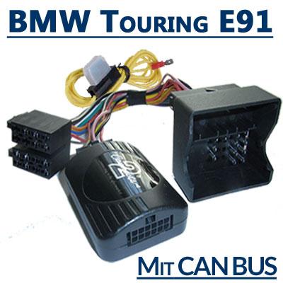 BMW-3er-Touring-E91-Adapter-für-Lenkradfernbedienung