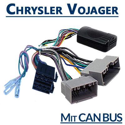 Chrysler-Vojager-Adapter-für-Lenkradfernbedienung