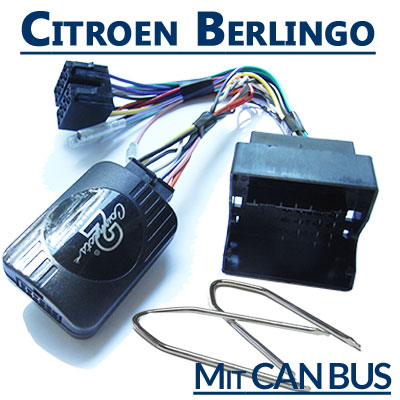 Citroen Berlingo Adapter für Lenkradfernbedienung mit CAN BUS Citroen Berlingo Adapter für Lenkradfernbedienung mit CAN BUS Citroen Berlingo Adapter f  r Lenkradfernbedienung mit CAN BUS