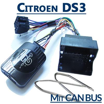 Citroen-DS3-Adapter-für-Lenkradfernbedienung-mit-CAN-BUS
