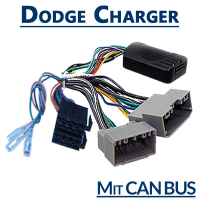 Dodge-Charger-Adapter-für-Lenkradfernbedienung