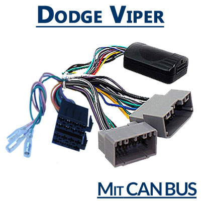 Dodge-Viper-Adapter-für-Lenkradfernbedienung