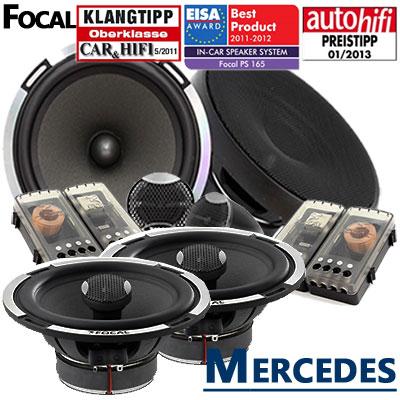 Mercedes-A209-Cabrio-Lautsprecher-Set-Testsieger-vordere-Türen