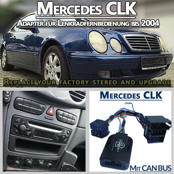 Mercedes-CLK-Adapter-für-Lenkradfernbedienung-bis-2004