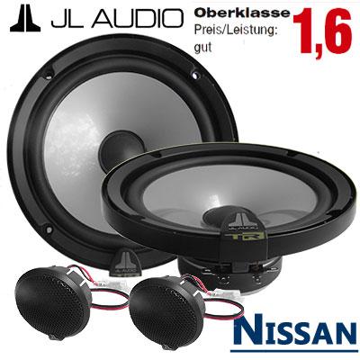 Nissan-Tiida-Lautsprecher-Oberklasse-gut-vordere-Türen