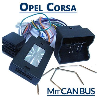 Opel Corsa Adapter für Lenkradfernbedienung mit CAN BUS Opel Corsa Adapter für Lenkradfernbedienung mit CAN BUS Opel Corsa Adapter f  r Lenkradfernbedienung mit CAN BUS