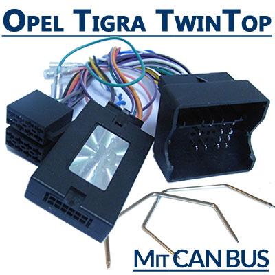 Opel-Tigra-TwinTop-Adapter-für-Lenkradfernbedienung-mit-CAN-BUS