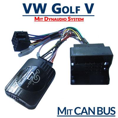 VW-Golf-V-mit-Dynaudio-System-Adapter-für-Lenkradfernbedienung