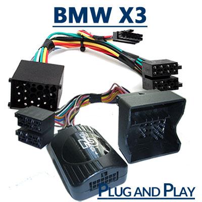 BMW X3 Adapter für Lenkradfernbedienung BMW X3 Adapter für Lenkradfernbedienung BMW X3 Adapter f  r Lenkradfernbedienung